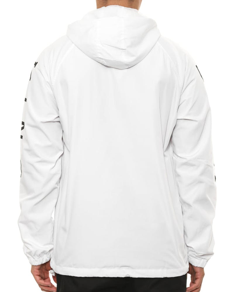 Aesthetic Shell Jacket White