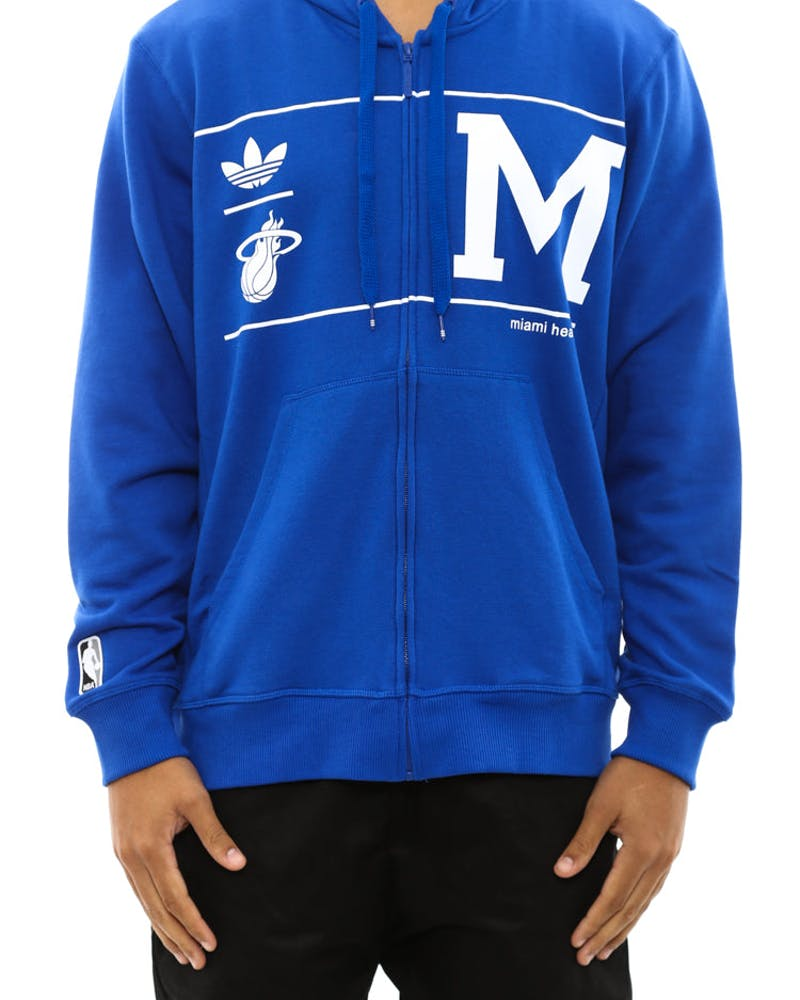 Miami Heat Hood Blue/brown