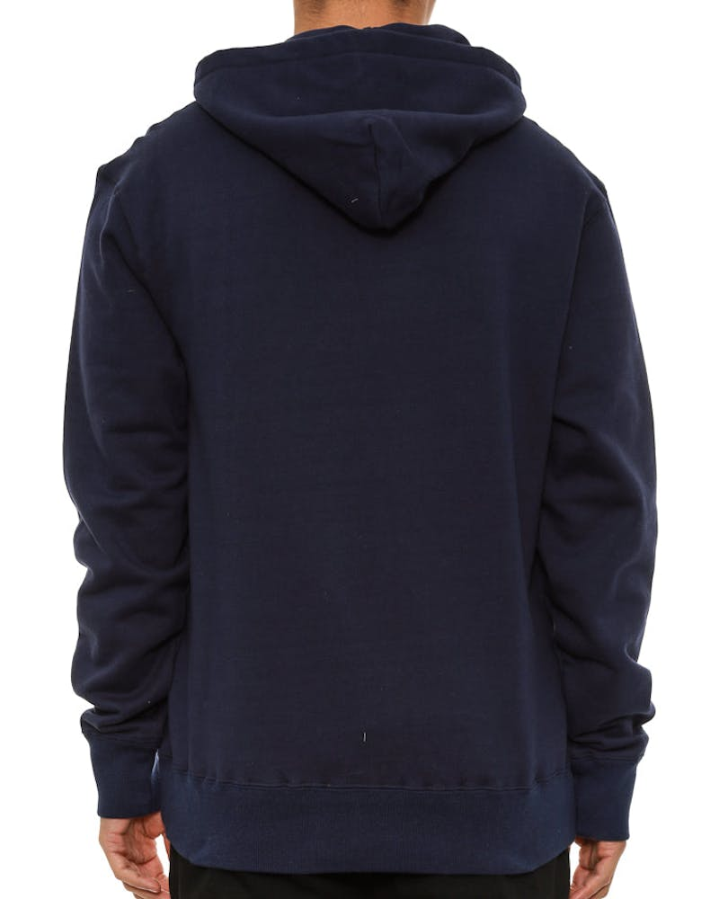 Small Arch Logo Hood Navy/white