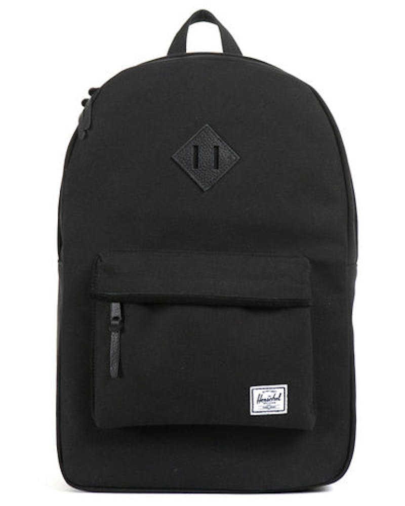 Heritage Canvas Backpack Black