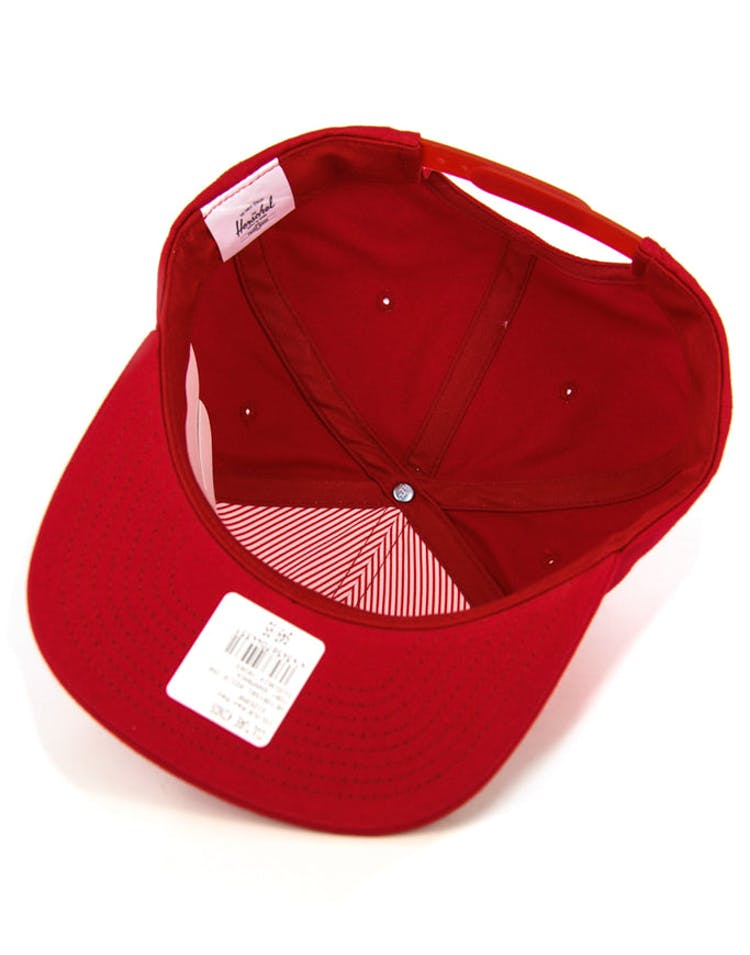 Toby Snapback Red/red
