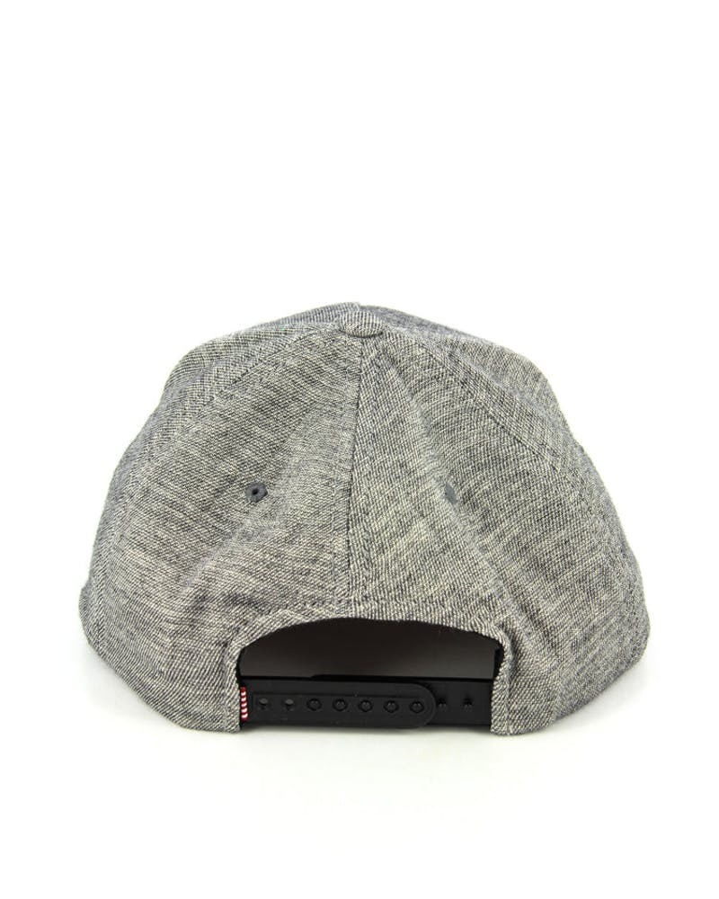 Whaler Snapback Grey Heather