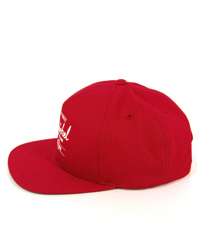 Whaler Snapback Red