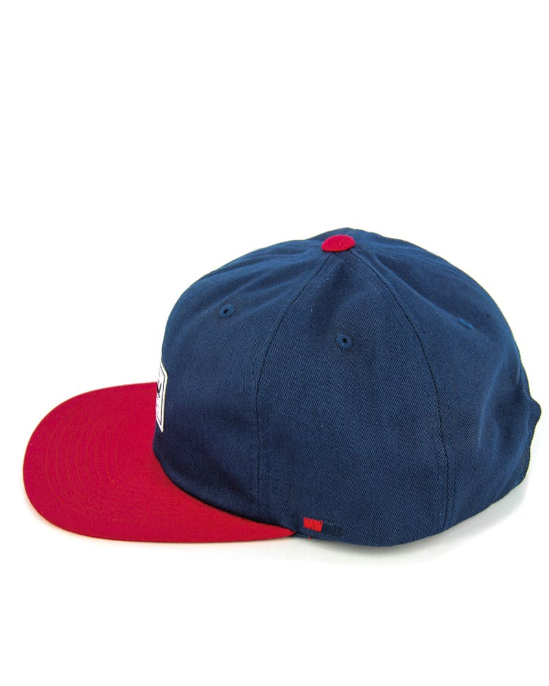 Albert Strapback Navy/red