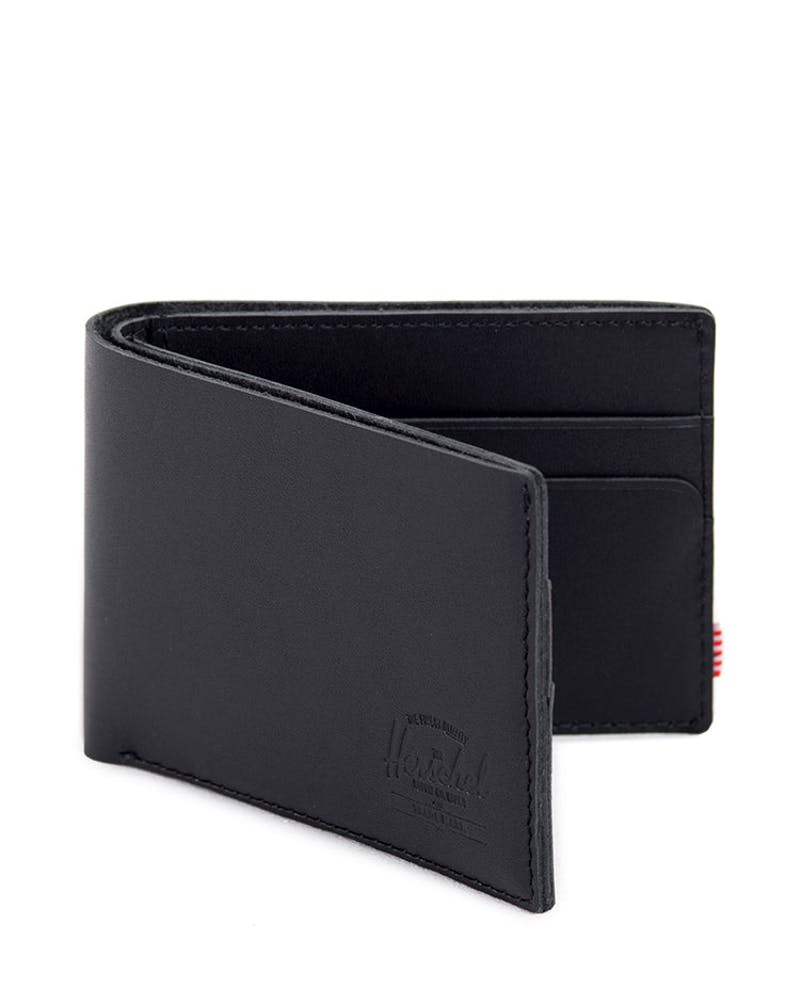 Miles Leather Wallet Black