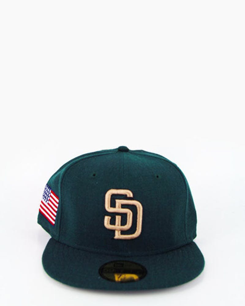 San Diego Padres Fashion Fitted Dark Green/bron
