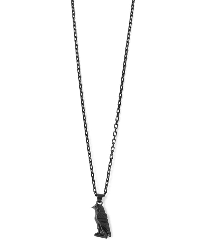Micro Horus Necklace Black