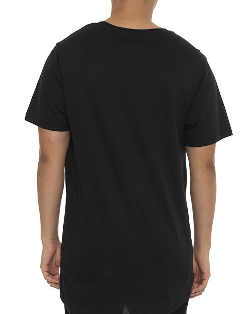 Reef Dished Tee Black/white