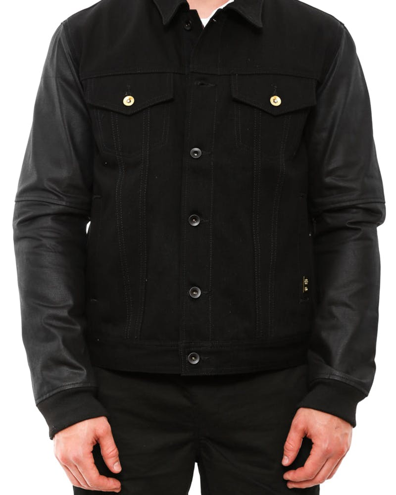 Motor City Denim Jacket Black