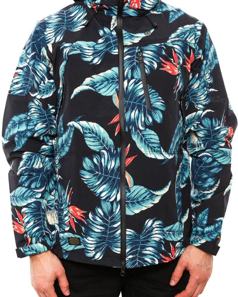 Altitude Tech Jacket Black/floral