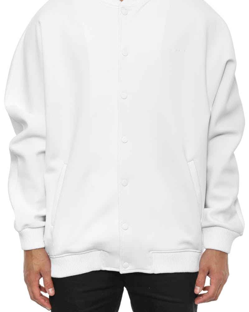 Crater Bomber Jacket White