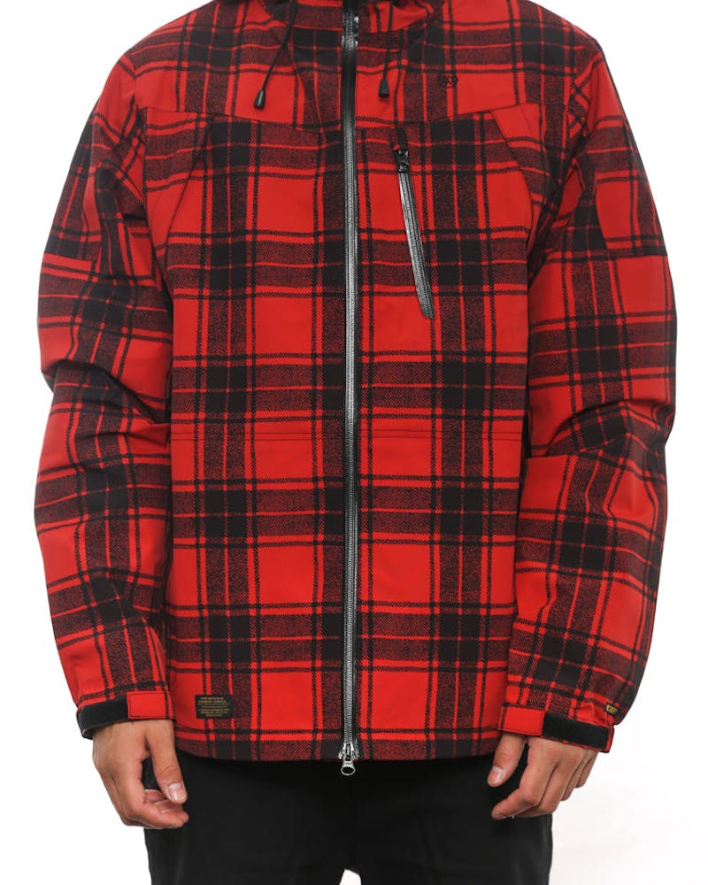 Altitude Tech Jacket 2 Red