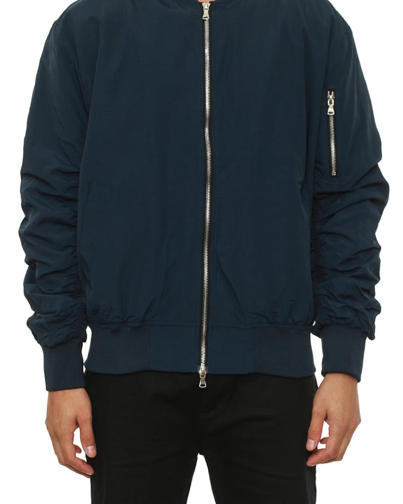 Bird Bomber Jacket Navy