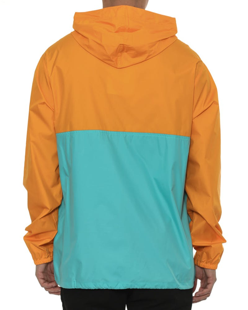 Light & Variable Hoody Orange/teal