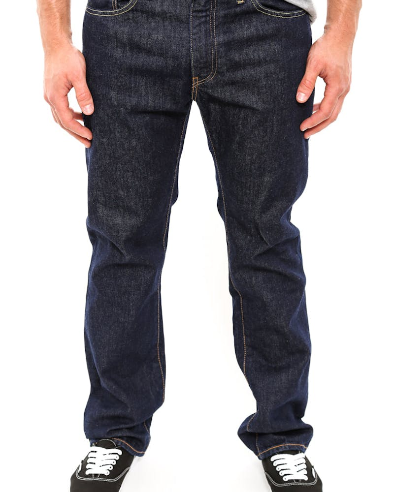 505 Straight Denim Jeans Dark Denim