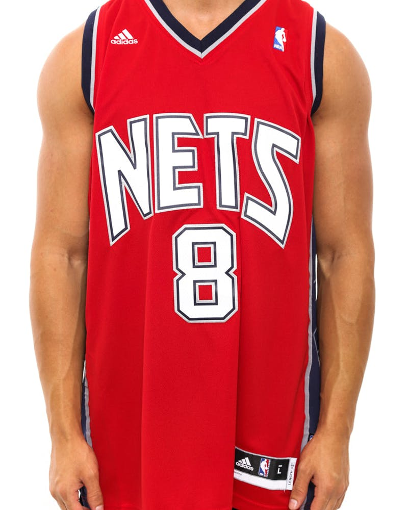 New Jersey Nets Rev 30 Red/white/black