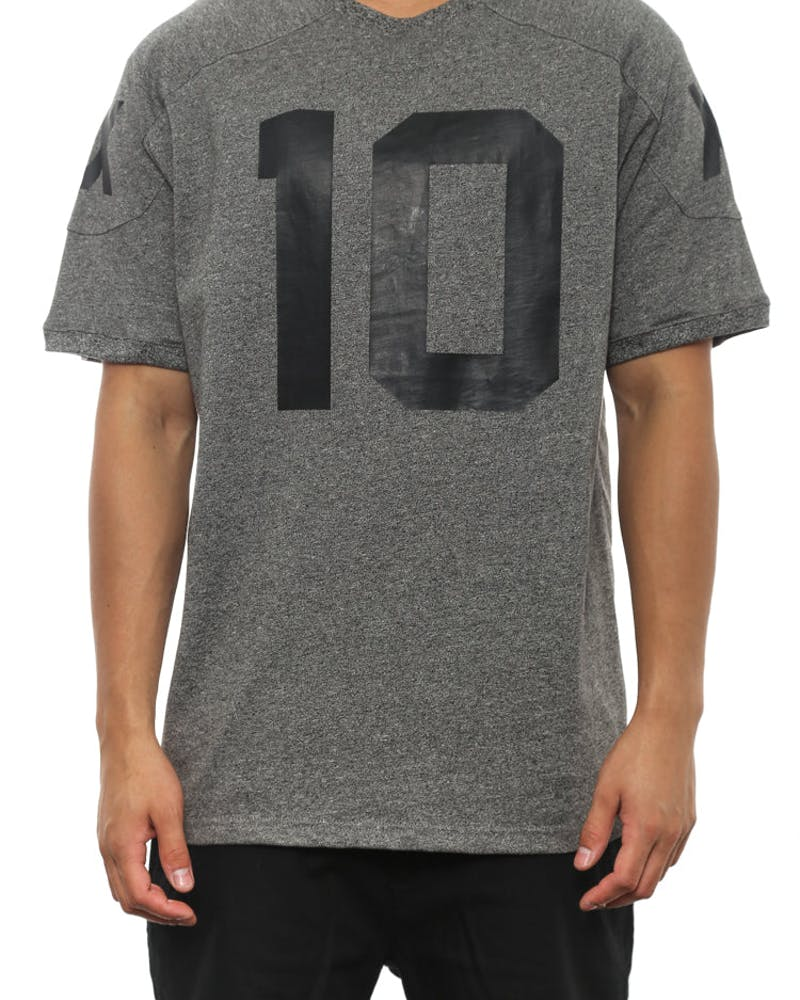 S14 J Brown Jersey Charcoal Heathe