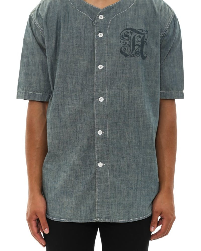 Prison Blue Baseball Jersey Royal