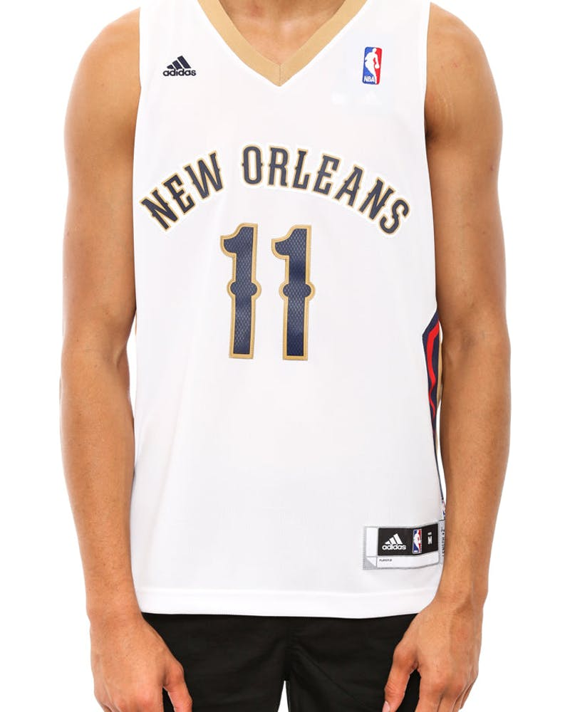 New Orleans Pelicans Revolution 30 White/navy/gold