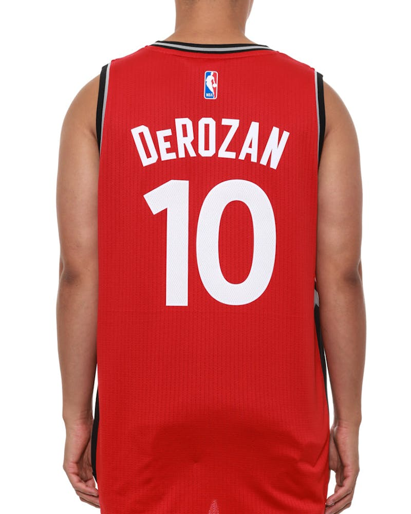 Raptors 10 Derozan SM Red