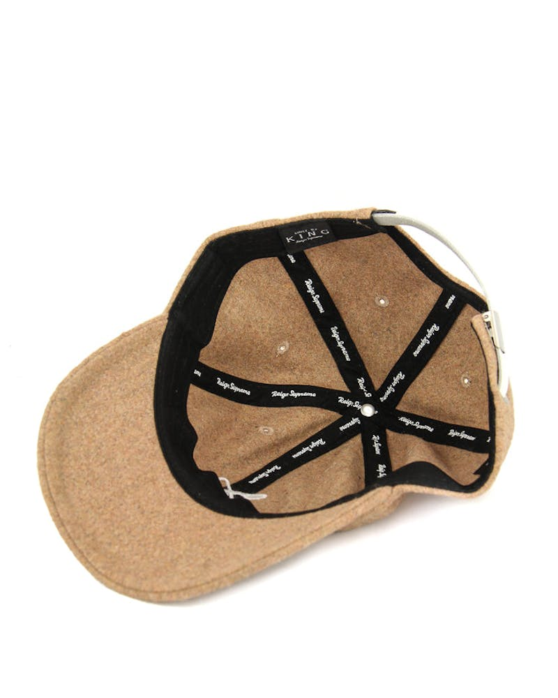 Hardgraft Curved Strapback Tan