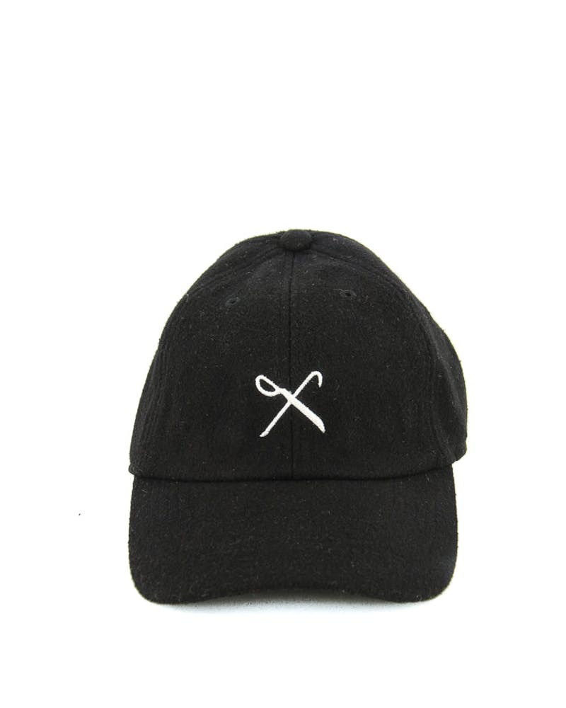 Hardgraft Curved Strapback Black