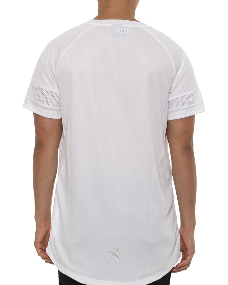 the Perf Tee White