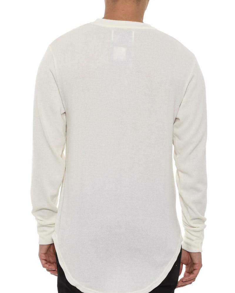 Penny Long Sleeve Tee Off White