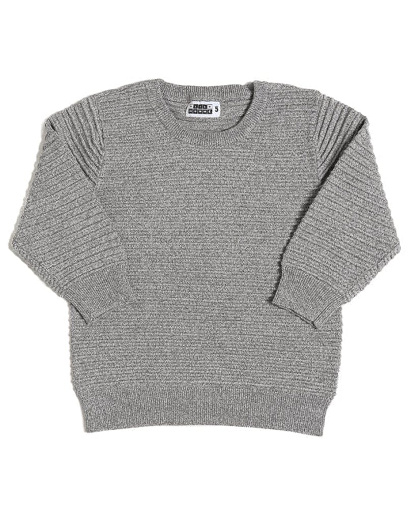Lil Hom Ripple Jumper Grey Heather