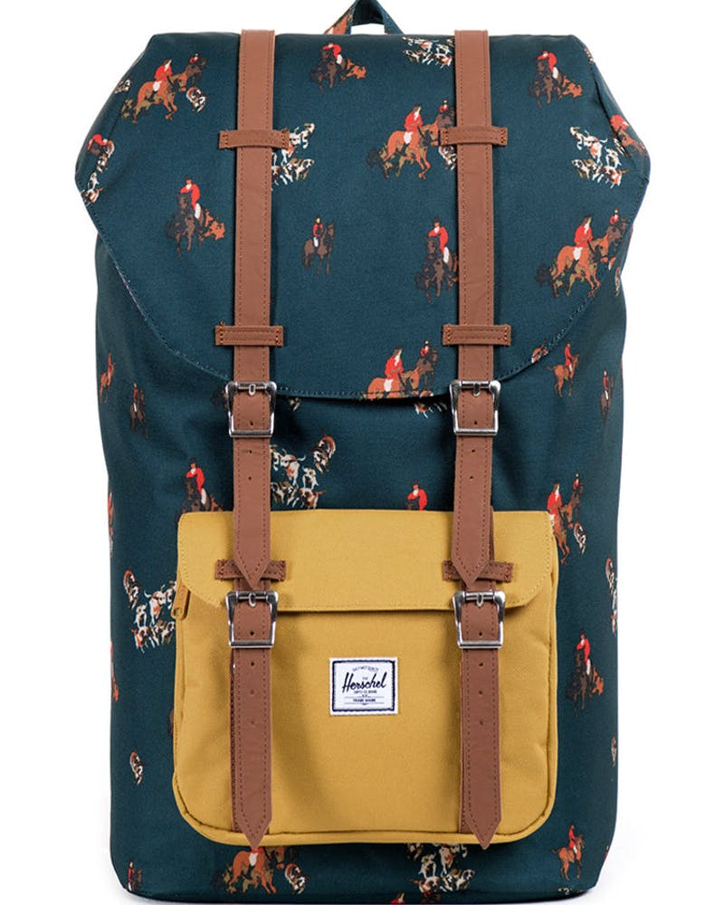 Little America Backpack 2 Navy/yellow