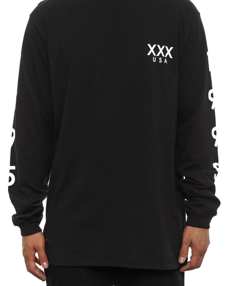 Stacks Long Sleeve Black