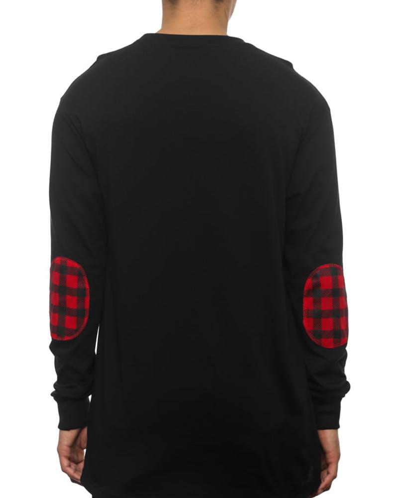 Alfred Longsleeve Black/red/black