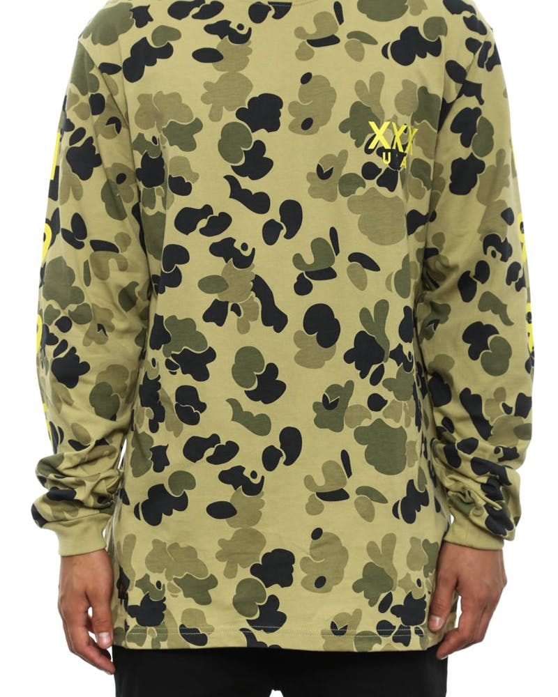 Stacks Long Sleeve Olive