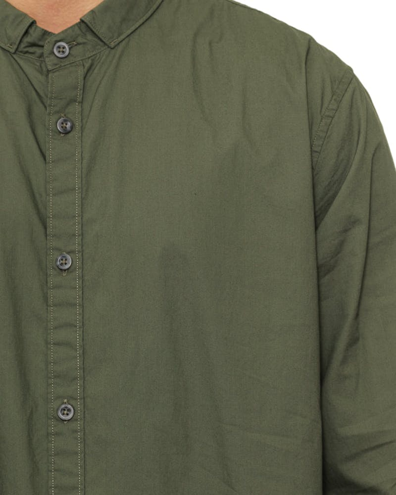 Tuck 7ft Long Sleeve Shirt Olive