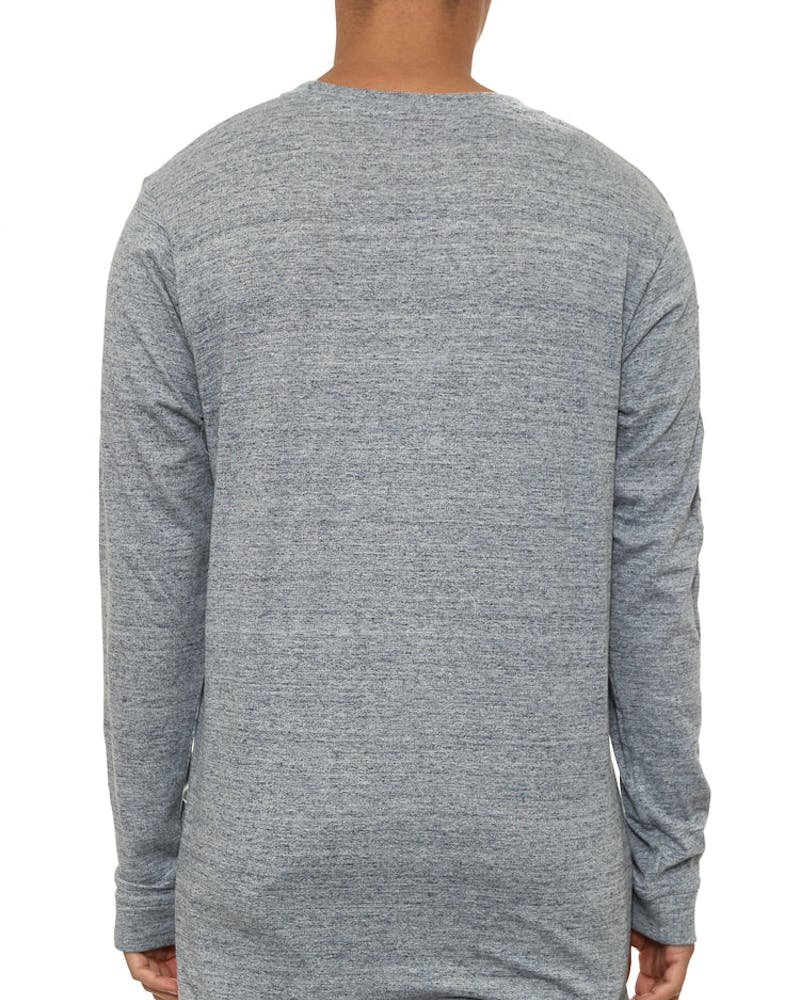 Riverside Qrs L/sleeve Tee Grey