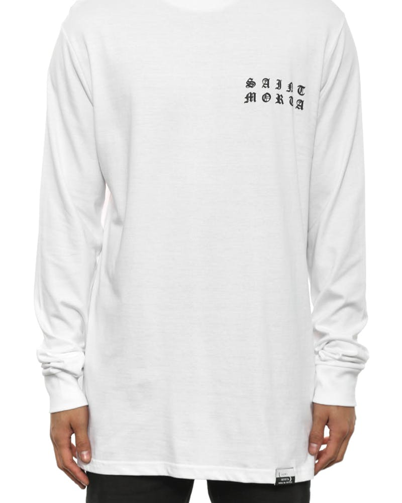 Only One Long Sleeve T White