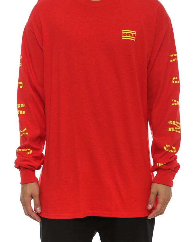 Eeuu Long Sleeve Tee Red