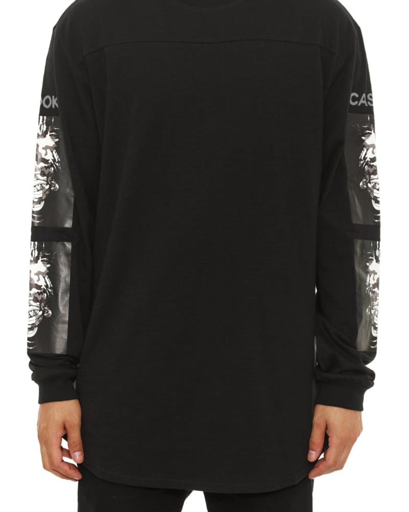 Dealin Long Sleeve Tee Black