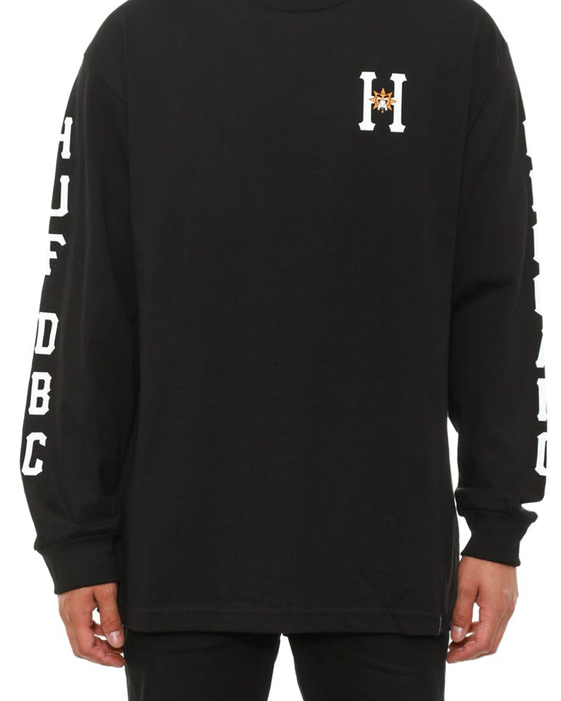 X Chief Keef Classic H Long Sleeve Black