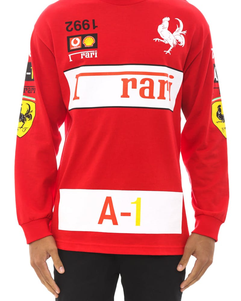 Rari Long Sleeve Shirt Red