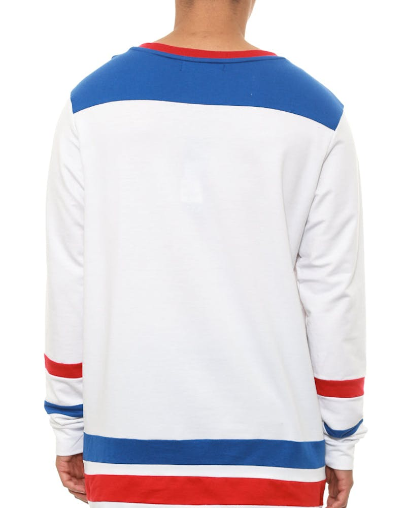Gretzky Long Sleeve Tee White