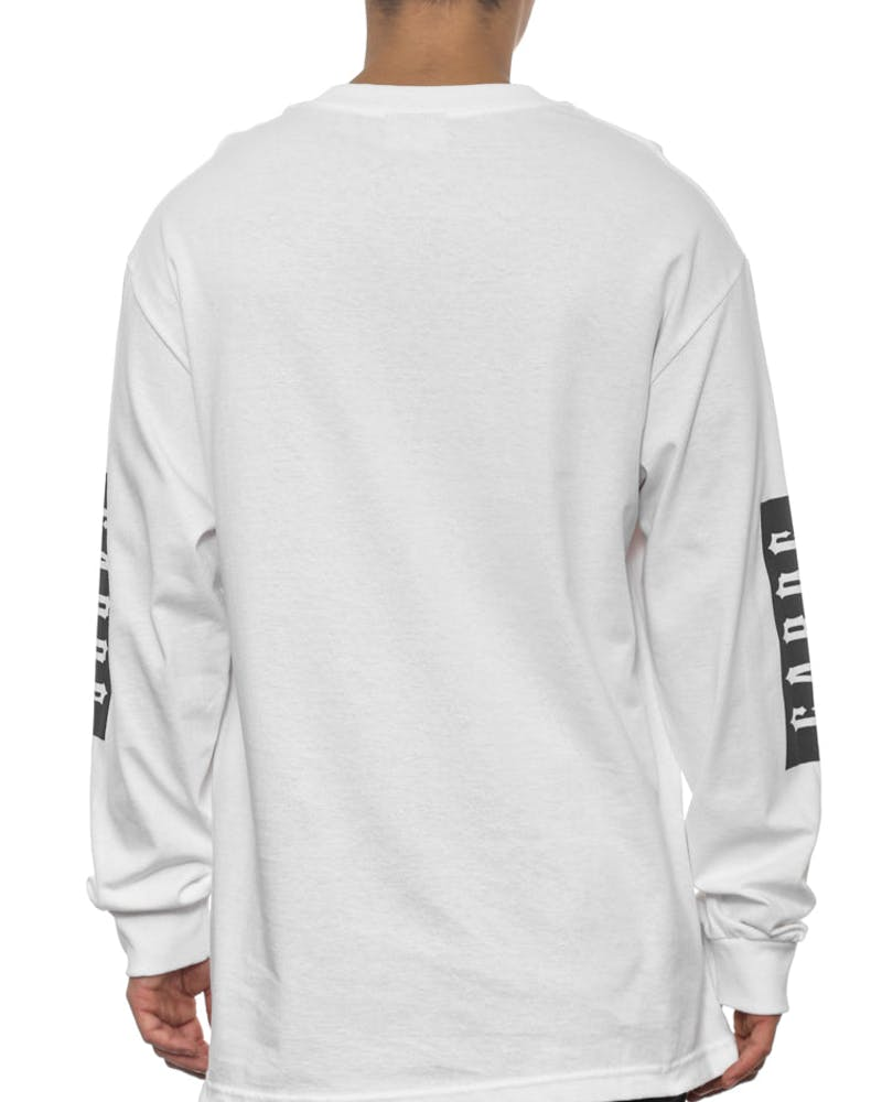 Ironside Long Sleeve Tee White
