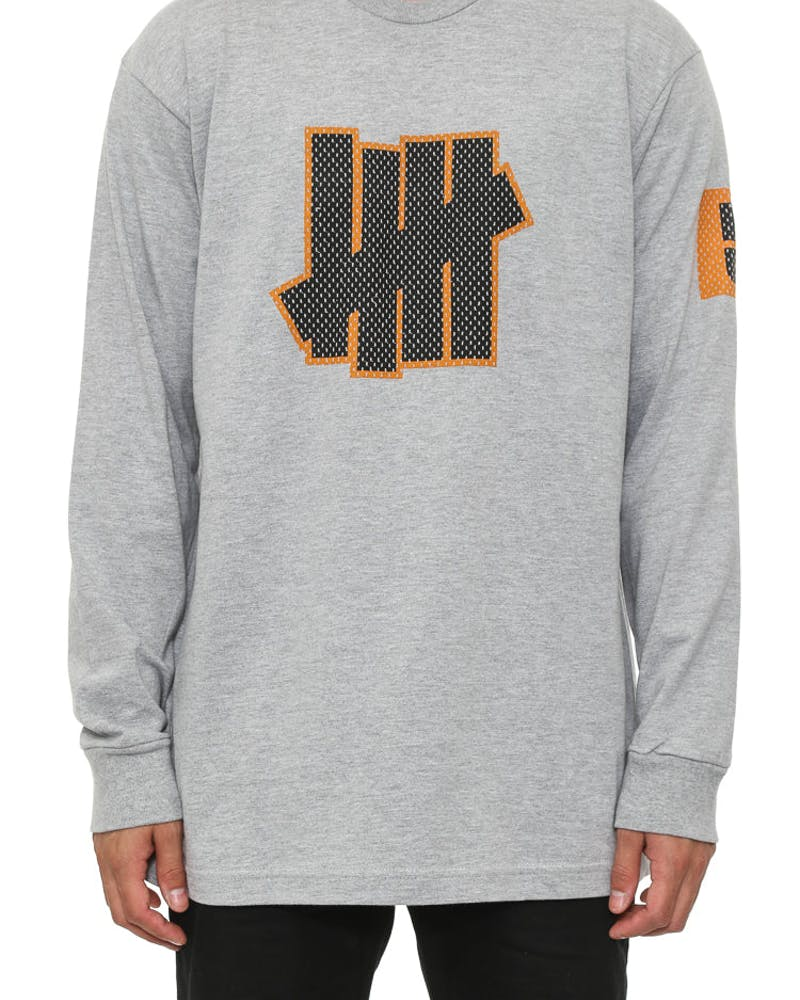 5 Strike Jersey Long Sleeve Grey