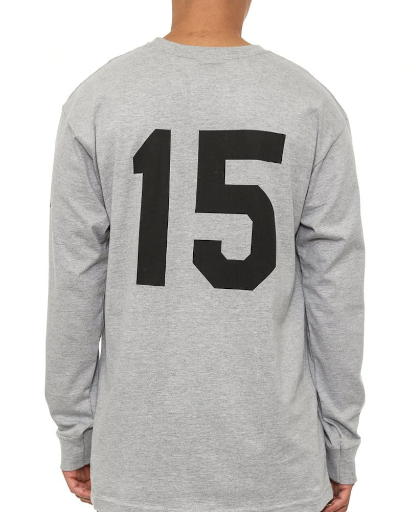 Soccer 15 Long Sleeve Tee Grey