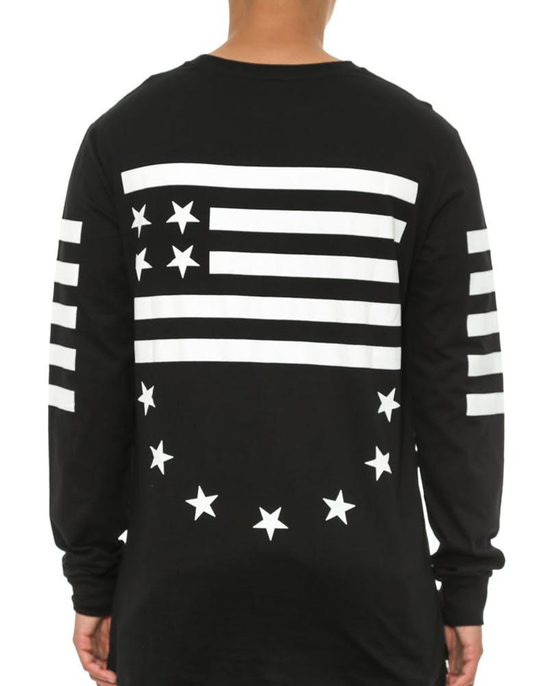 After Comp Long Sleeve Tee Black