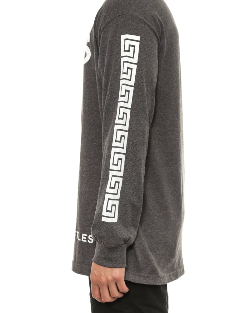 Greco Crks Long Sleeve Charcoal