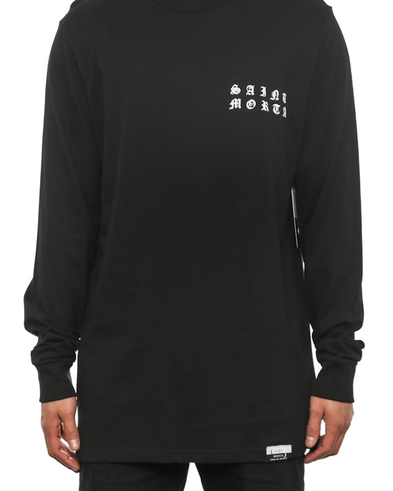 Only One Long Sleeve T Black