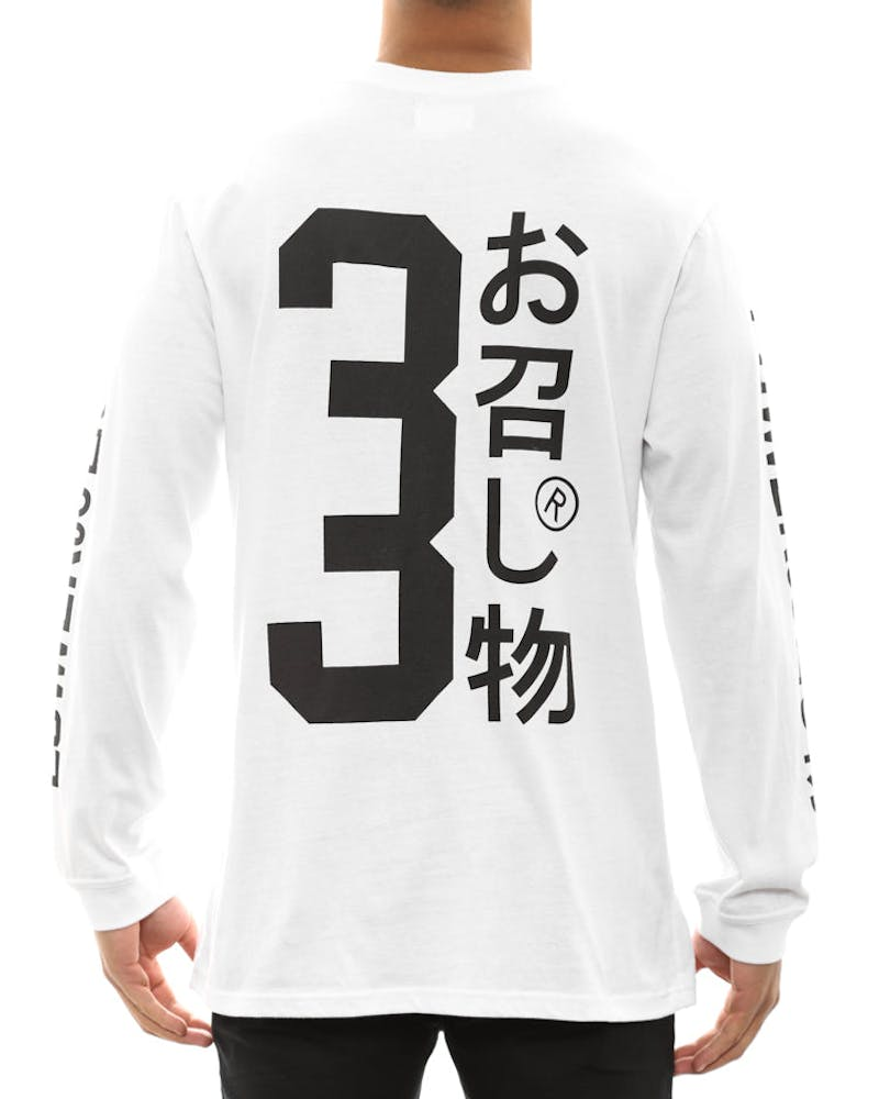 Shibuya Long Sleeve Tee White