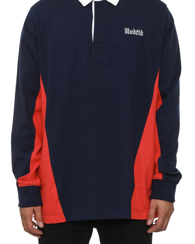 Rugby Shirt Long Sleeve Navy