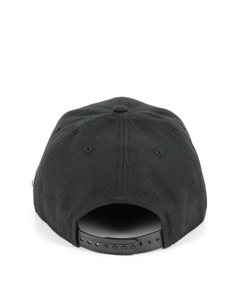 Metal Flag Orig.fit Snapback Black/silver